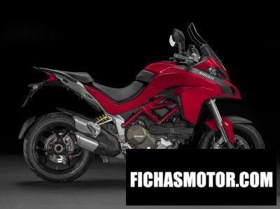 Imagem da motocicleta Ducati Multistrada 1200 s d-air ano 2015