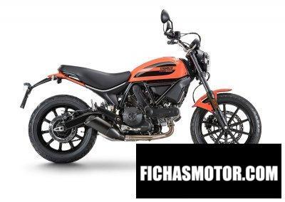 Imagen moto Ducati Scrambler Sixty2 año 2020