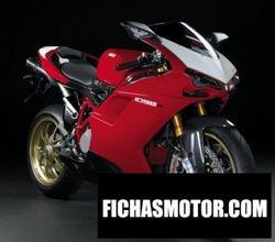 Imagen moto Ducati superbike 1098 r 2008