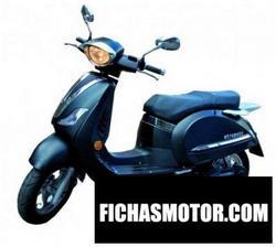 Imagen moto E-tropolis bel air 2012