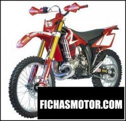 Imagen moto Gas gas ec 250 racing 2008
