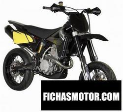 Imagen moto Gas gas sm 515 supermotard 2009