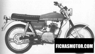 Imagen moto Gilera 150 strada año 1972