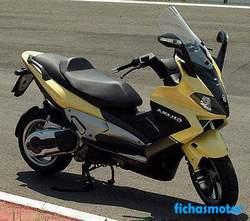 Imagen moto Gilera nexus 500 2006