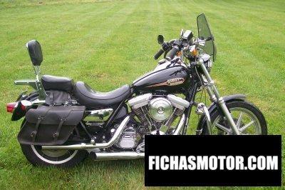 Imagen moto Harley davidson 1340 super glide año 1993