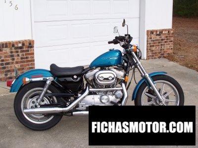 Imagen moto Harley davidson 883 sportster standard año 1995
