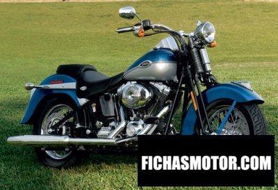 Imagen moto Harley davidson flstsci Softail Springer Classic año 2006