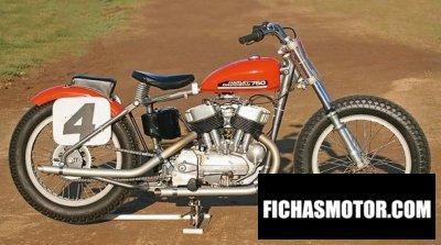 Imagen moto Harley davidson kr 750 año 1952
