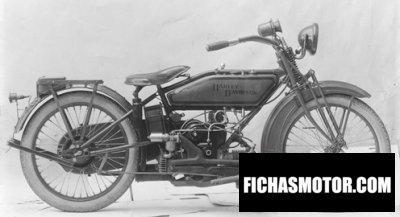Imagen moto Harley davidson sport Twin año 1922