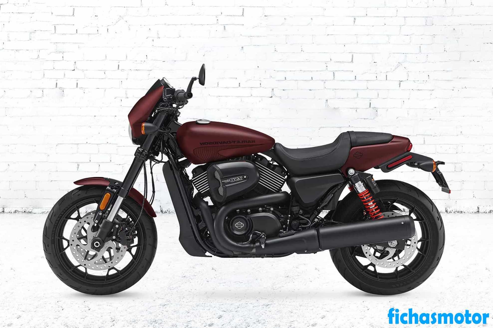 Imagen moto Harley Davidson Street Rod año 2020