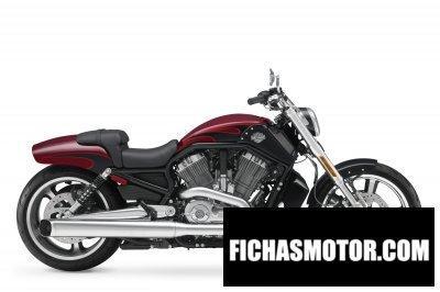 Ficha técnica Harley davidson v-rod muscle 2017