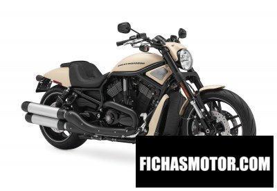 Ficha técnica Harley davidson v-rod night rod special 2014