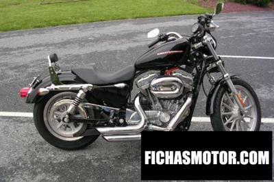 Ficha técnica Harley davidson xlh sportster 883 de luxe (reduced effect) 1992
