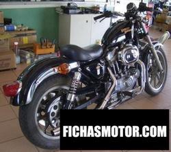 Imagen moto Harley davidson xlh sportster 883 standard (reduced effect) 1988