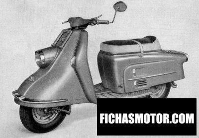Imagen moto Heinkel a2 año 1962