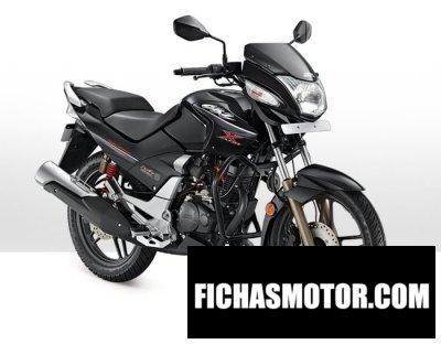 Imagen moto Hero cbz xtreme año 2012