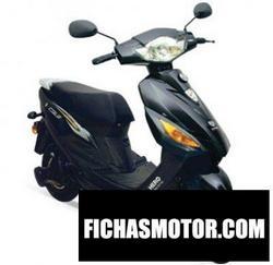 Imagen moto Hero electric cruz 2011