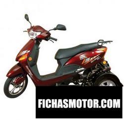 Imagen moto Hero electric optima plus special ability 2011