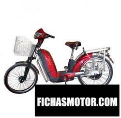 Imagen moto Hero electric zippy 2011