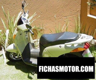 Imagen moto Honda @ 125 año 2002