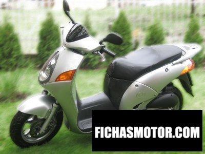 Imagen moto Honda @ 150 año 2002