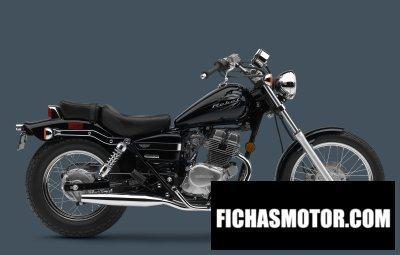 Imagen moto Honda 250 rebel año 2010