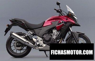 Imagen moto Honda 400x año 2015