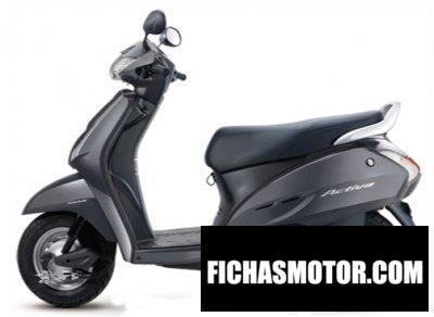 Imagen moto Honda activa año 2011
