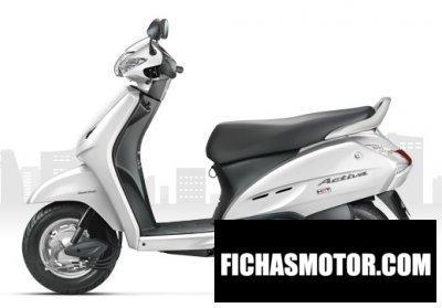 Imagen moto Honda activa año 2014