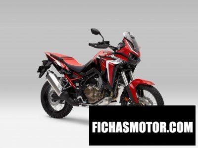 Ficha técnica Honda Africa Twin 2020