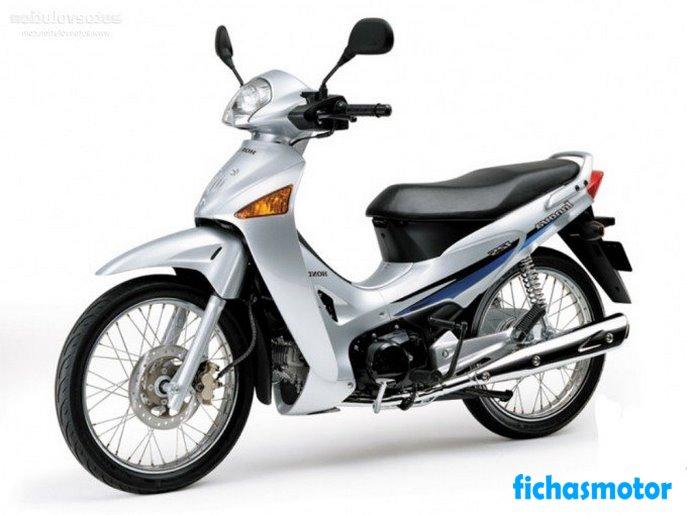 Imagen moto Honda anf 125 innova año 2007