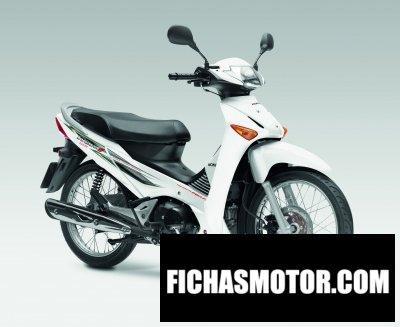 Ficha técnica Honda anf125i innova 2011