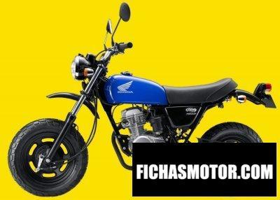 Imagen moto Honda ape 50 año 2015