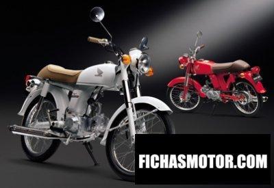 Imagen moto Honda benly 50 s año 2006