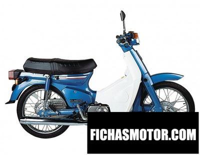 Ficha técnica Honda c90 k3 1978