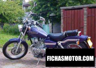 Imagen moto Honda ca 125 rebel año 1997