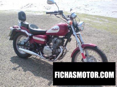 Ficha técnica Honda ca 125 rebel 1999