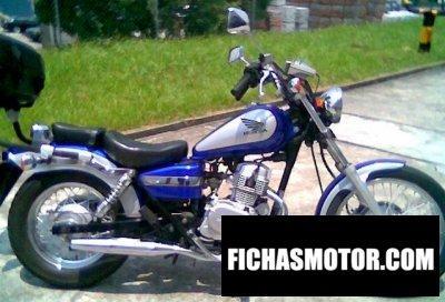 Imagen moto Honda ca rebel 125 año 2000