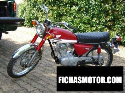 Imagen moto Honda cb 100 año 1971