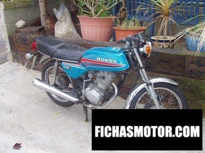 Imagen moto Honda cb 100 n año 1981