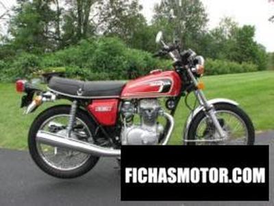 Imagen moto Honda cb 100 ss año 1975