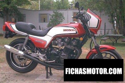Ficha técnica Honda cb 1100 f 1983