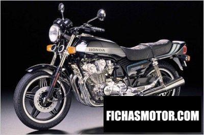 Imagen moto Honda cb 1100 f año 1984