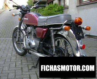 Imagen moto Honda cb 125 disc año 1975