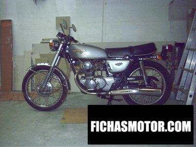 Imagen moto Honda cb 125 disc año 1976