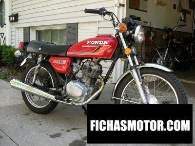 Imagen moto Honda cb 125 s año 1979