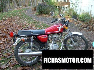 Ficha técnica Honda cb 125 s (j) 1978