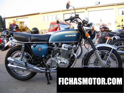 Imagen moto Honda cb 125 ss año 1972