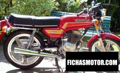 Imagen moto Honda cb 125 t 2 año 1980