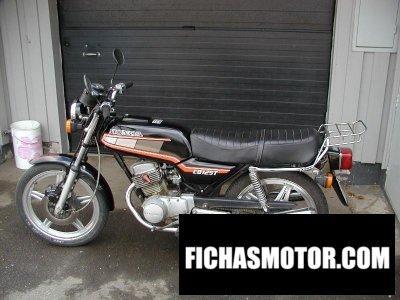 Imagen moto Honda cb 125 t 2 año 1981